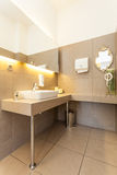 Intérieur méditerranéen - lavabo Photographie stock libre de droits