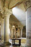 Intérieur magnifique d'une cathédrale Photographie stock libre de droits