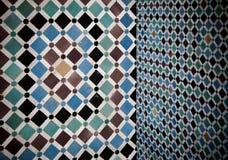 Intérieur marocain grunge photos stock
