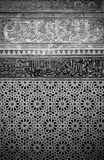 Intérieur marocain grunge images stock