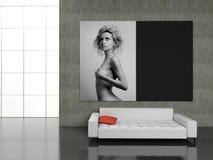 Intérieur moderne Image stock