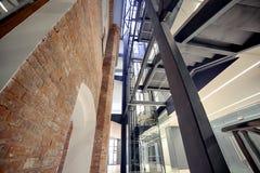 Intérieur moderne Architecture moderne Photo libre de droits