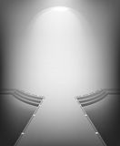 Intérieur moderne blanc Image stock