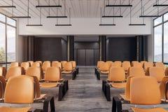 Intérieur moderne d'aéroport Photographie stock libre de droits
