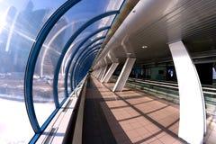 Intérieur moderne d'architecture de galerie photo stock