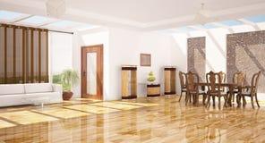 Intérieur moderne d'une salle. Images stock