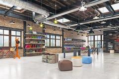 Intérieur moderne de boutique illustration de vecteur