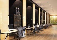 Intérieur moderne de bureau illustration de vecteur