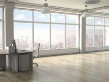 Intérieur moderne de bureau 3d rendent Images stock