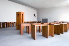 Intérieur moderne de chapelle Image stock