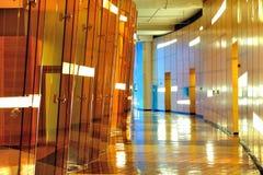 Intérieur moderne de construction Images libres de droits