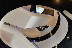 Intérieur moderne de construction Image libre de droits