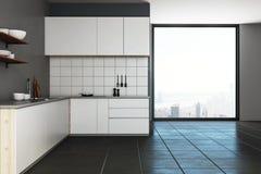 Intérieur moderne de cuisine Photos libres de droits
