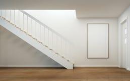 Intérieur moderne de maison Photo stock