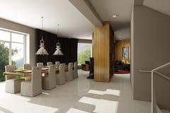 Intérieur résidentiel de maison Photos libres de droits