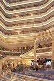Intérieur riche d'hôtel de Legendale de cinq étoiles, Pékin, Chine Image libre de droits