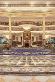 Intérieur riche d'hôtel de Legendale de cinq étoiles, Pékin, Chine Photographie stock libre de droits