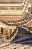 Intérieur riche d'hôtel de Legendale de cinq étoiles, Pékin, Chine Photo stock