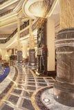 Intérieur riche d'hôtel de Legendale de cinq étoiles, Pékin, Chine Photo libre de droits