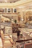 Intérieur riche d'hôtel de Legendale de cinq étoiles, Pékin, Chine Photographie stock
