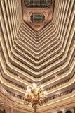 Intérieur riche d'hôtel de Legendale de cinq étoiles, Pékin, Chine Images libres de droits