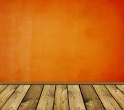 Intérieur rouge de cru Photo libre de droits