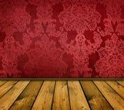 Intérieur rouge pointu de cru Photo libre de droits