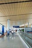 Intérieur spacieux d'aéroport de Kunming Changshui, Chine Photo stock