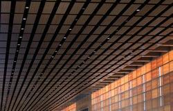Intérieur terminal Image stock