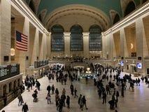 Intérieur terminal de Grand Central image stock