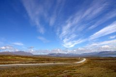 Intérieur Thingevellir de l'Islande Images libres de droits