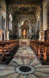 intérieur Venise d'église Photos libres de droits