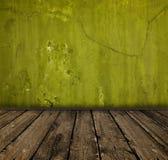 Intérieur vert Photo libre de droits