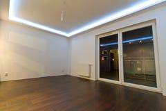Intérieur vide d'appartement Photo libre de droits