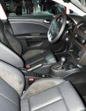 Intérieur vide de véhicule Photographie stock
