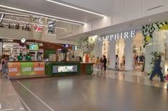 Intérieurs de centre commercial Photographie stock