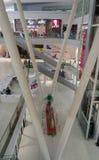 Intérieurs de centre commercial Images libres de droits