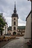 Intérieurs de château en Pologne Photo libre de droits