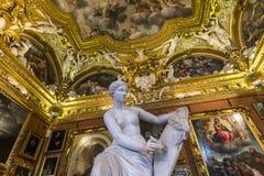Intérieurs de Palazzo Pitti, Florence, Italie Image libre de droits