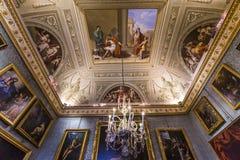 Intérieurs de Palazzo Pitti, Florence, Italie Images libres de droits