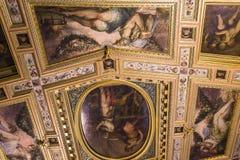 Intérieurs de Palazzo Vecchio, Florence, Italie Images stock