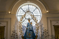 Intérieurs de saint Walburga Church, Bruges, Belgique, Photo libre de droits