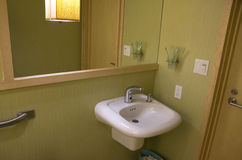 Intérieurs de salle de bains Photo stock