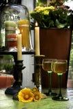 Intérieurs de vin image stock
