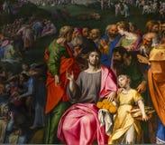Intérieurs des d'Anvers cathédrale, Anvers, Belgique de Notre Dame image stock