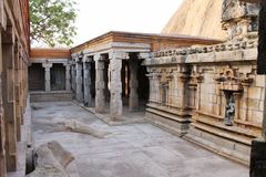 Intérieurs jain de temple de Narthamalai Photo stock