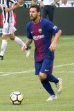 2017 Int ` l冠军杯巴塞罗那足球俱乐部对尤文图斯队 免版税库存照片