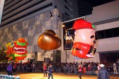 Hong Kong :Intl Chinese New Year Night Parade 2011 Stock Photo