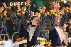 Hong Kong :Intl Chinese New Year Night Parade 2011 Royalty Free Stock Photography