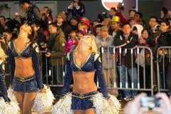 Hong Kong :Intl Chinese New Year Night Parade 2012 Royalty Free Stock Images